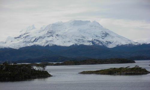 Zdjęcie CHILE / Chile / Magellan Strait / Cieśnina Magellana Góry