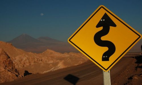 Zdjęcie CHILE / Pólnocne Chile / San Pedro de Atacama / Dolina Księżycowa