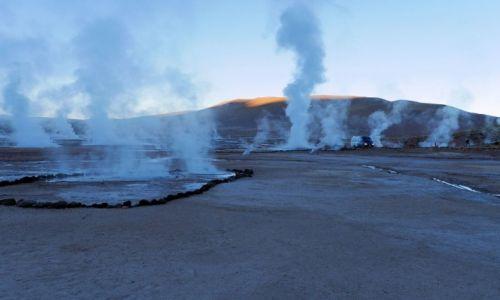 Zdjęcie CHILE / Atakama / pustynia / Gejzery