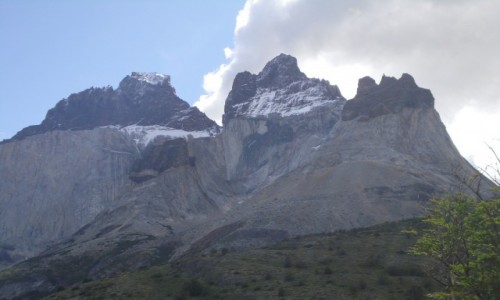 Zdjęcie CHILE / park Torres dl Paine  / Cuernos del Paine / Cuernos del Paine
