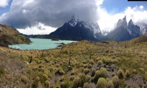 Zdjecie CHILE / Patagonia / Park Narodowy Torres Del Paine / Masyw Los Cuern