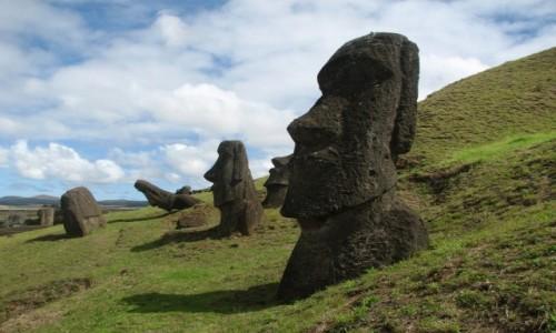 CHILE / W.Wielkanocna / W.Wielkanocna / MOAI