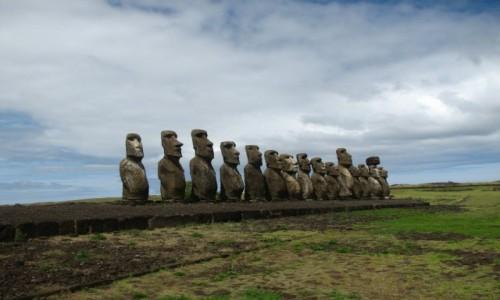Zdjęcie CHILE / W.Wielkanocna / W.Wielkanocna / MOAI