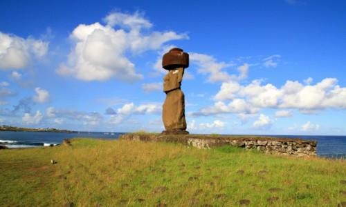 Zdjęcie CHILE / Rapa Nui / Ahu Ko Te Riku / Ahu Ko Te Riku