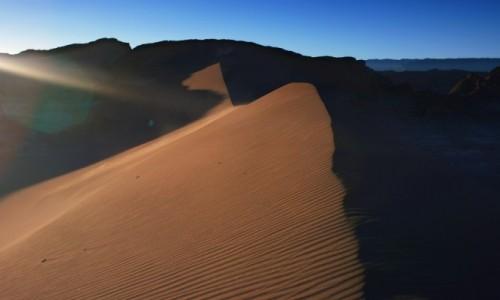 Zdjęcie CHILE / Norte Grande / San Pedro De Atacama / Dune.