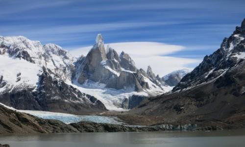 Zdjecie ARGENTYNA / Patagonia / Park Narodowy Los Glaciares / Cerro Torre