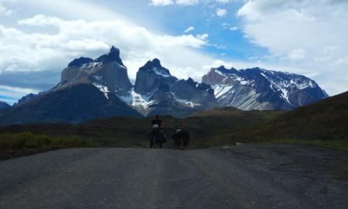Zdjecie CHILE / Torres del Paine / Torres del Paine / w objęciach Torres del Paine