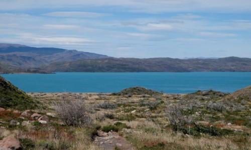 CHILE / Patagonia / Torres del Paine / Lago Pehoe