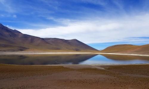 CHILE /  Antofagasta / Laguna Miñiques / Harmonia
