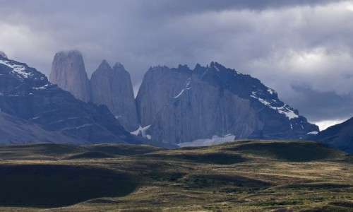 Zdjecie CHILE / Patagonia / NP Torres del Paine / Torres w kotle