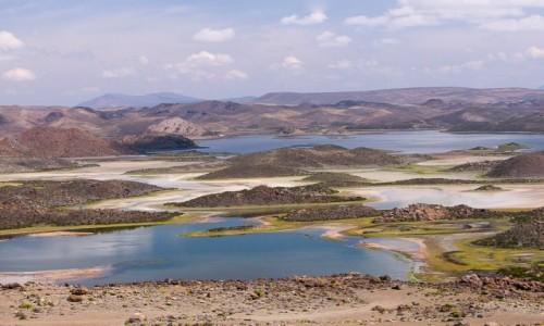 CHILE / Arica i Parinacota / NP Lauca / Laguna Cotacotani