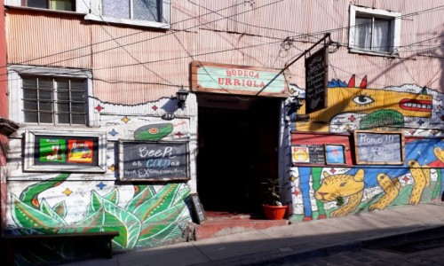 Zdjecie CHILE / Valparaiso / Valparaiso / Zaproszenie na piwo