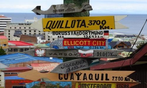 CHILE / Patagonia / Punta Arenas / A do domu daleko