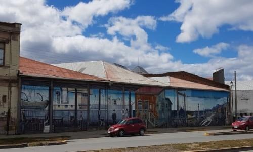 CHILE / Patagonia- region Magallanes / Punta Arenas / Życie w Punta Arenas