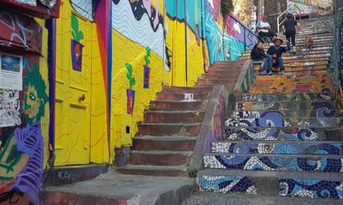 Zdjecie CHILE / środkowe Chile / Valparaiso / Kolory Valparaiso