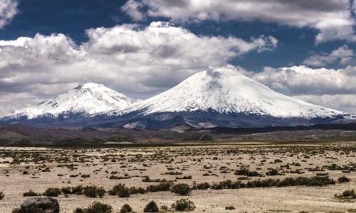 Zdjęcie CHILE / Arica i Parinacota / Lauca NP / Parinacota i Pomerade