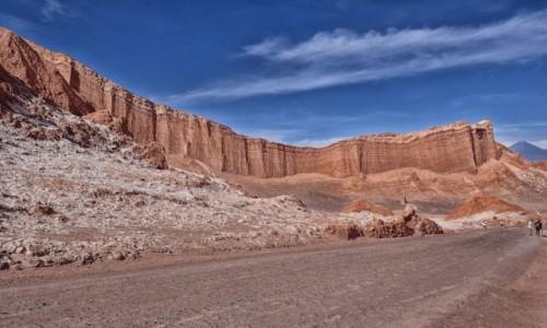 CHILE / pomiędzy Norte Chico i Norte Grande / Pustynia Atacama; Dolina Księżycowa /