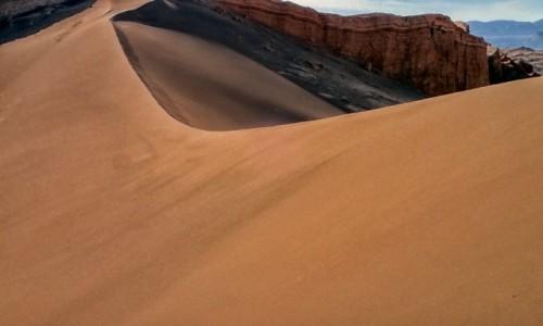 Zdjecie CHILE / pomiędzy Norte Chico i Norte Grande / Pustynia Atacama; Dolina Księżycowa / Konkurencja dla DUNE45 :)