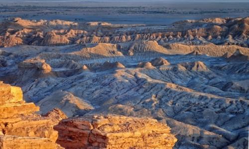 Zdjęcie CHILE / pomiędzy Norte Chico i Norte Grande / Pustynia Atacama; Dolina Księżycowa / Zaczna się spektakl :)