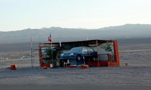 Zdjęcie CHILE / Pustynia Atacama / po drodze / zamiast przydrożnego krzyża...