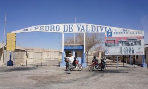 Zdjęcie CHILE / Antofagasta / Pedro de Valdivia / Pedro de Valdivia