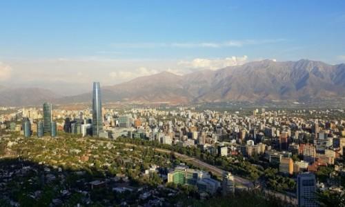 Zdjecie CHILE / Metropolitana / Santiago de Chile-Costanera Center / Gran Torre de Santiago