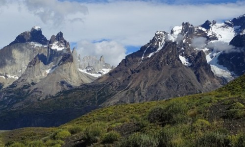 Zdjecie CHILE / Patagonia- region Magallanes / Park Narodowy Torres del Paine / Cordillera del Paine