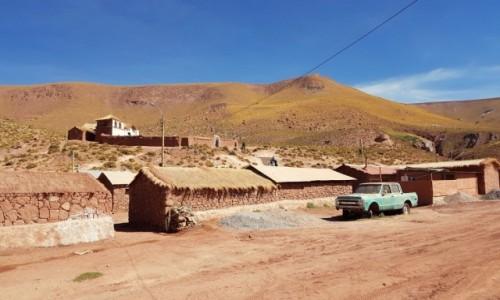 Zdjecie CHILE / Atacama / Machuca / Pueblo jakich wiele