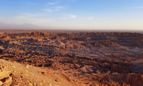 Zdjecie CHILE / Atacama / Valle de la Luna / Księżycowo