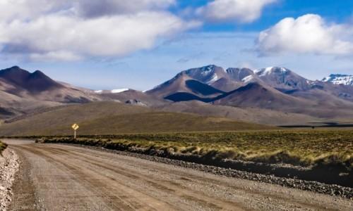 Zdjecie CHILE / Arica y Parinacota / NP Lauca / W drodze