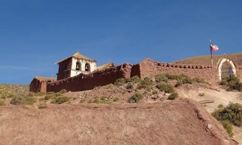 Zdjecie CHILE / Atacama / Machuca / Wiejski kościółek