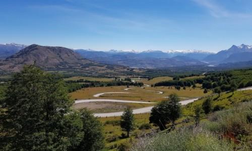 CHILE / Provincia de General Carrera / - / Dolina rzeki Ibáñez