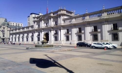 CHILE / Stołeczny / Santiago de Chile / CHILE I BOLIWIA - SAMOTNIE I INTENSYWNIE