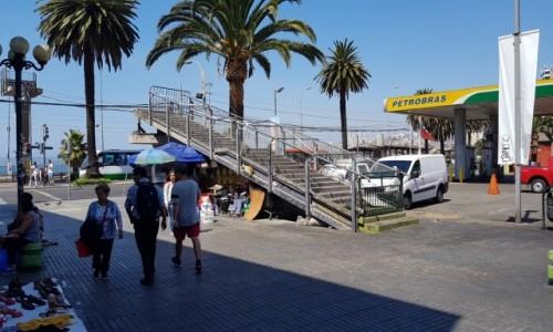 Zdjecie CHILE / Chile / Valparaiso / Valparaiso  - też mają schody