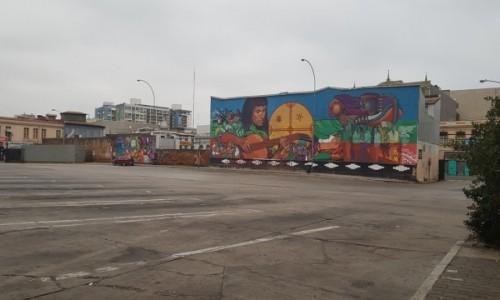 Zdjecie CHILE / Chile / Valparaiso / Valparaiso dworzec autobusowy