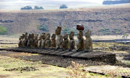 Zdjecie CHILE / Rapa Nui / Tongariki / 15 wspaniałych;)