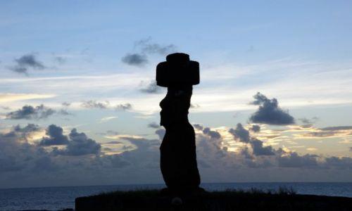 Zdjęcie CHILE / Rapa Nui / Tahat  - Kompleks archeologiczny / Ahu Ko Ke Riku