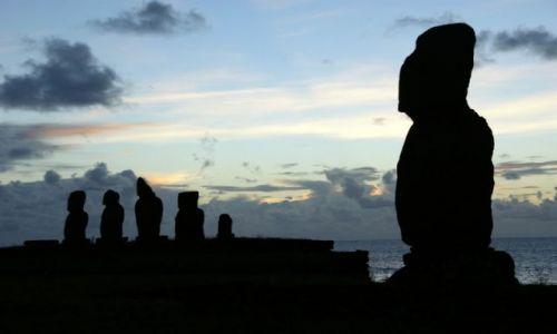 Zdjęcie CHILE / Rapa Nui / Tahat  - Kompleks archeologiczny / Ahu Tahai