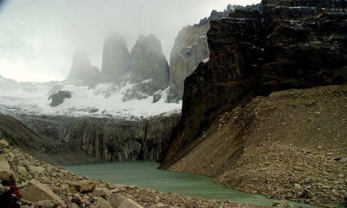 Zdjęcie CHILE / Magallanes / Park Narodowy Torres del Paine / Prawie je bylo widac:)