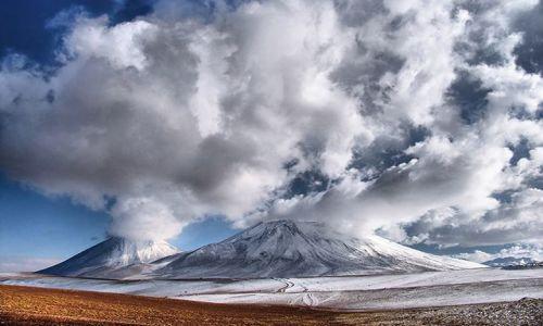 Zdjecie CHILE / Atacama / Licancabur / Fabryka chmur