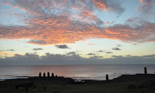 Zdjęcie CHILE / Pacyfik / Rapa Nui / Ahu Tahai