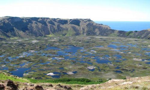 Zdjęcie CHILE / Pacyfik / Wyspa Wielkanocna / Krater Rano Kau