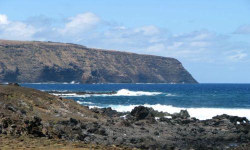 Zdjęcie CHILE / Pacyfik / Wyspa Wielkanocna / Klif