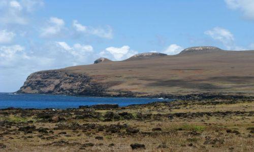 Zdjecie CHILE / Pacyfik / Wyspa Wielkanocna / Półwysep Poike