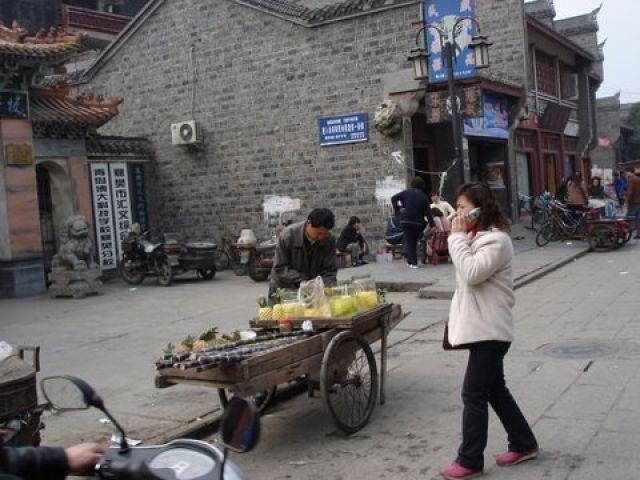 Zdjęcia: Stare Miasto, Xianagfa , Uliczne życie, CHINY