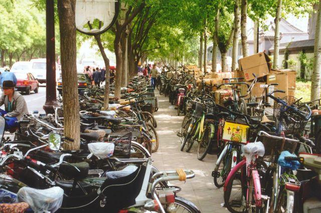 Zdjęcia: Pekin, Rowery ..., CHINY