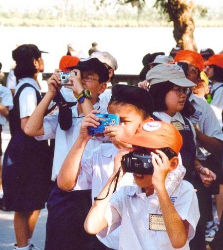 Zdj�cia: Pa�ac Letni, Pekin, Wycieczka z Japonii, CHINY