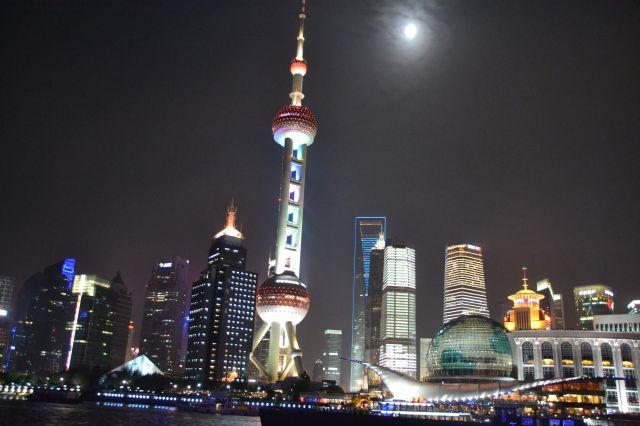 Zdjęcia: Shanghai, Płd-wsch Chiny, KONKURS - SHANGHAI NOCĄ, CHINY
