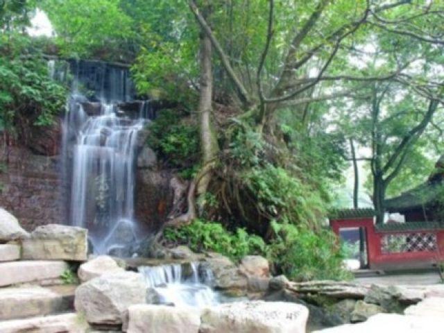 Zdj�cia: Leshan, Sichuan, Wodospad, CHINY