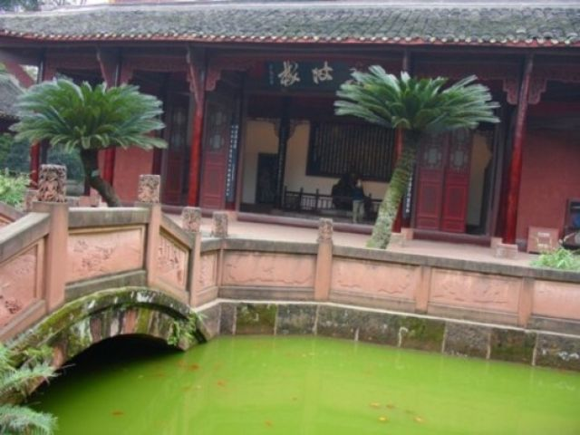 Zdj�cia: Leshan, Sichuan, Klasztor WUYOU SI, CHINY